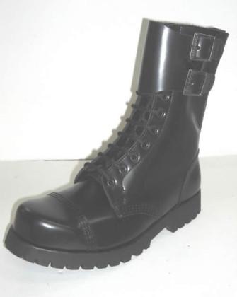 - 10 w/2 Buckles black leathe