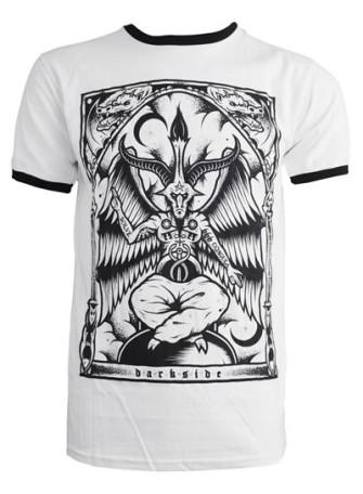 - Baphomet Mens Ringer T Shirt
