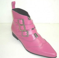 Denmark boot pink leather