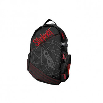 - Slipknot - Black BP w/ Red Label Front