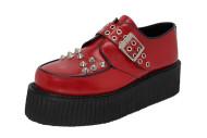 Buldog monk creeper shoe red box leather