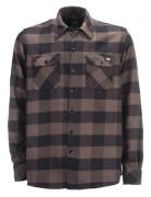 Sacramento flannel check shirt - Grey/Blk