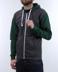 Zip Jacket Bi Colour