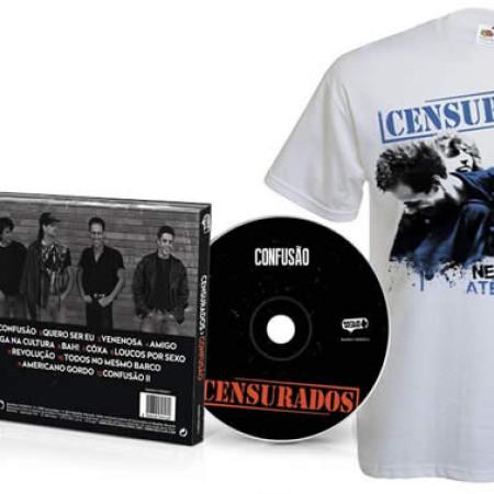Confusão (CD + Tshirt Branca)