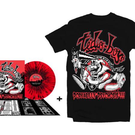Porkabilly Psychosis LP + Tshirt