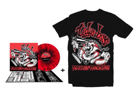- Porkabilly Psychosis LP + Tshirt