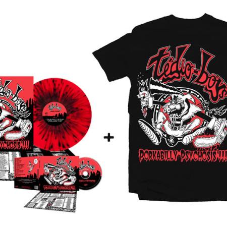 Porkabilly Psychosis - Super Bundle 1 (Tshirt + CD + LP)