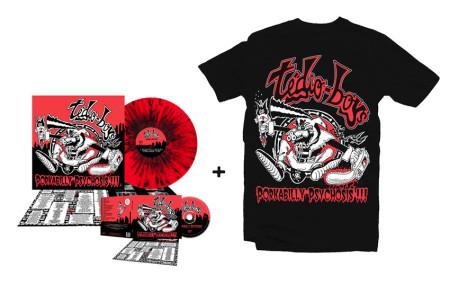 - Porkabilly Psychosis - Super Bundle 1 (Tshirt + CD + LP)