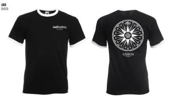 - 1755 Compass Logo Ringer Tshirt