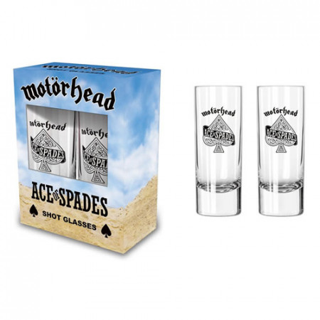 - Ace of spades Shot Glass