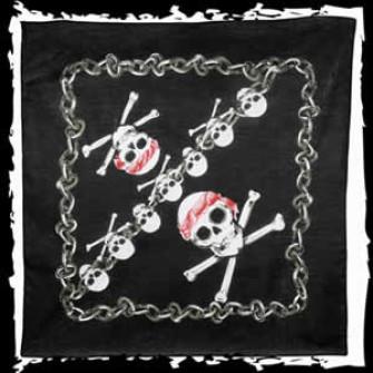 - Bandana Skulls & Chains