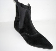 Beat boot black suede