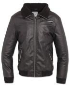 B52 PU Jacket schwarz