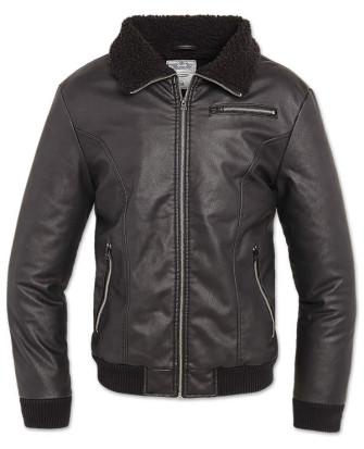 - B52 PU Jacket schwarz