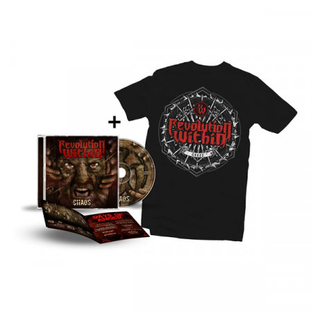 - Chaos Shield Tshirt + CD