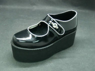 Jane shoe black patent