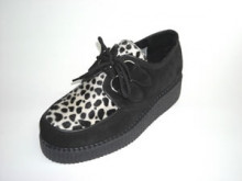 Steelground  Single lace creeper shoe