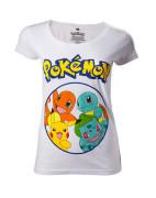 Pokémon - Starting Characters Women's T-shirt