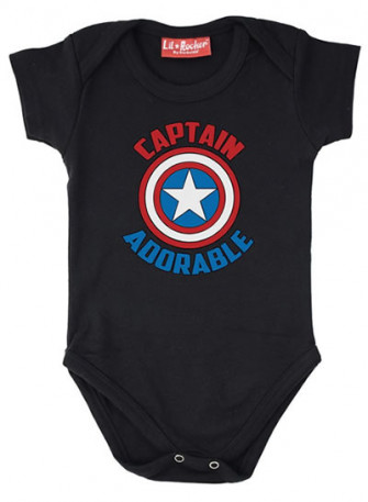 - Captain Adorable Baby Grow