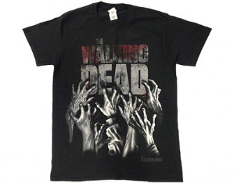 - Walking Dead - hands reaching