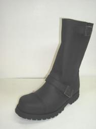 Steelground Close leg boot black greasy