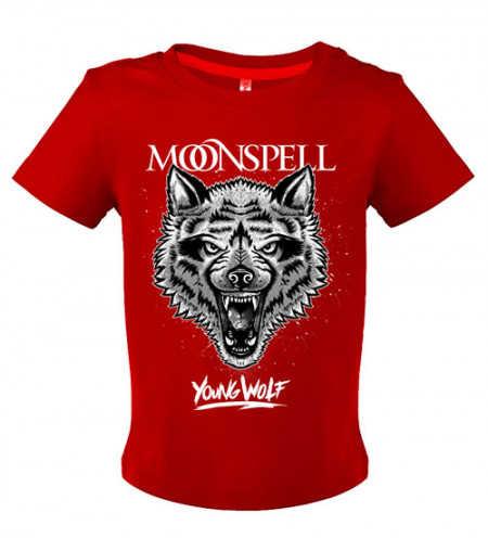 - Young Wolf (Red, Baby Tshirt)