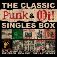 The classic oi! & punk singles box