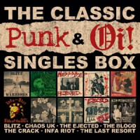 The classic oi! & punk singles box