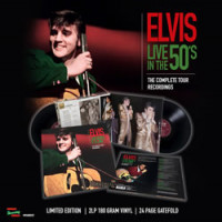 LIVE IN THE 50's - THE COMPLETE TOUR RECORDINGS (2LP + 24 PAGE GATEFOLD