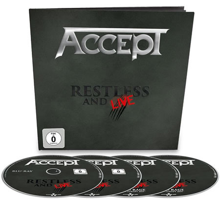 Restless and live (Earbook)