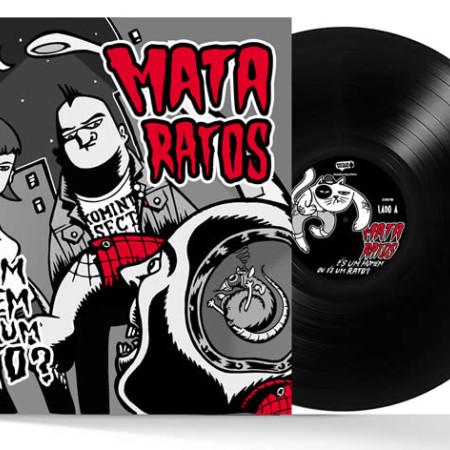 És um Homem ou És um Rato? (Black Vinyl)