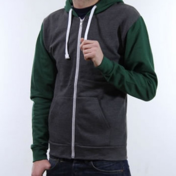 Zip Jacket - Bi Colour