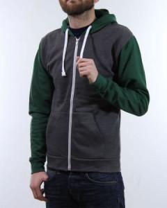 Zip Jacket - Bi Colour